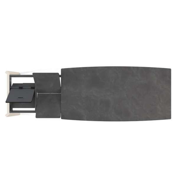 Système d'allonge en portefeuille  - Table Eclipse 2 - 7