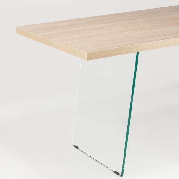 Table moderne avec pieds en verre - Domo  - 6