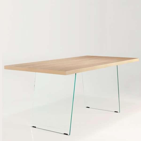 Table avec pieds en verre - Domo  - 3