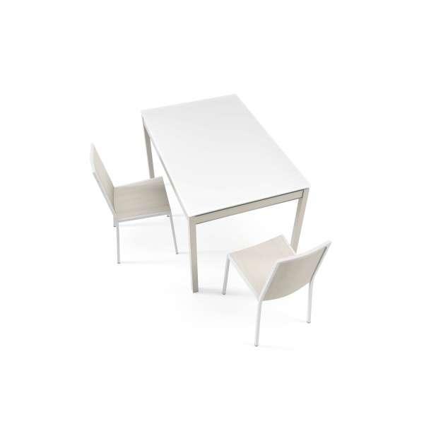 Table de cuisine extensible en verre - Bambola 2 - 2