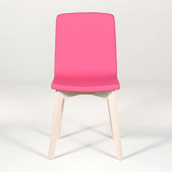 Chaise design en bois et tissu PVC - Eclipse confort 8 - 6