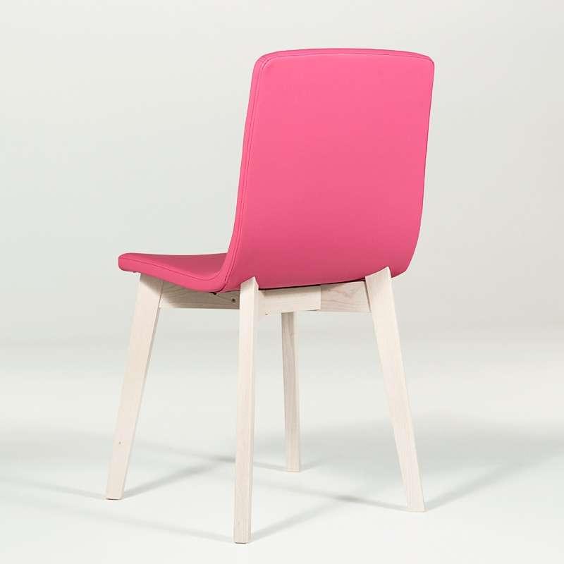 Chaise Moderne En Bois Et Synthetique Eclipse Confort 4 Pieds Com