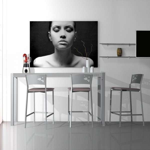 Table en verre - petit espace - hauteur 90 cm - Cumbre - 3