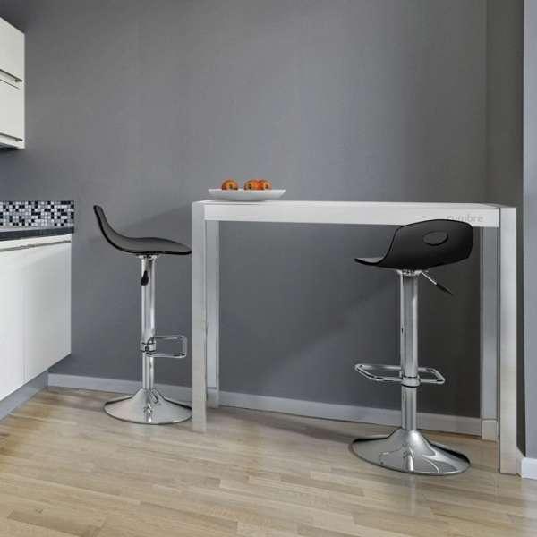Table en verre - petit espace - hauteur 90 cm - Cumbre 4 - 2