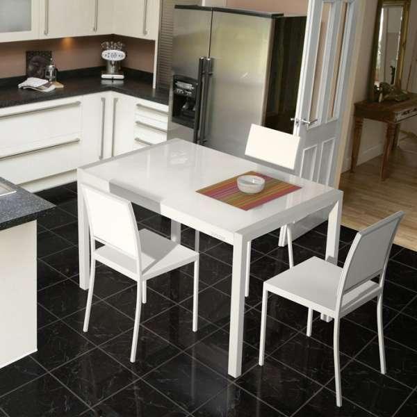Table design en verre extensible - Concept extensible - 2