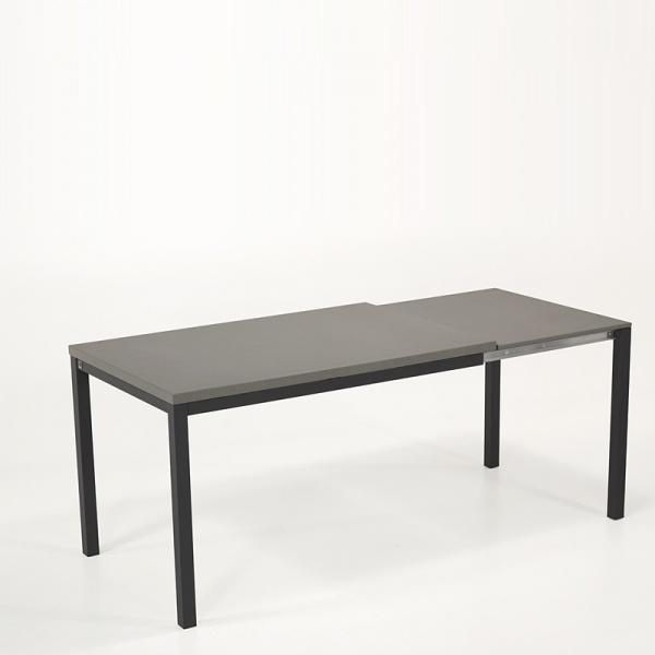 Table de cuisine avec rallonge en céramique - hauteur 75 cm - Toy métal 2  - 5