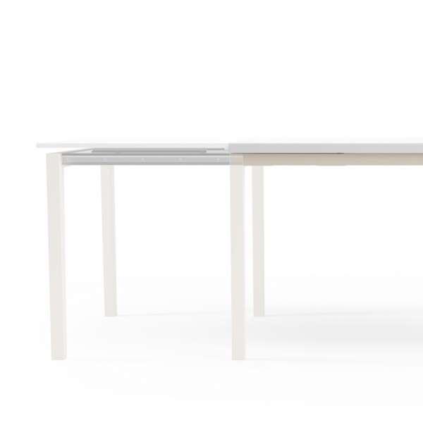 Table de cuisine avec rallonge en verre - Toy bois 4 - 4