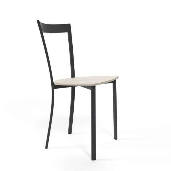 Chaise de cuisine métal et bois - Spirit 2 - 1