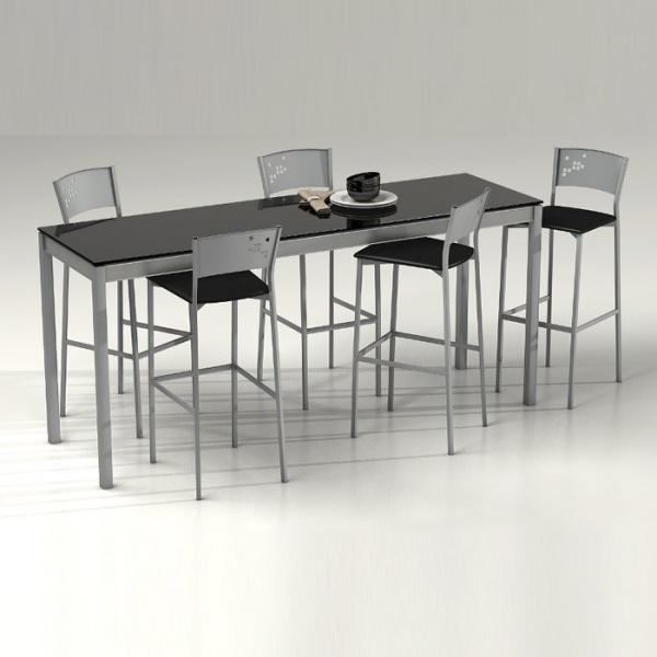 Table en verre sur mesure personnalisable - Multipla 2 - 2
