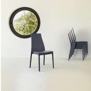 Chaise en polypropylène - Miranda 2