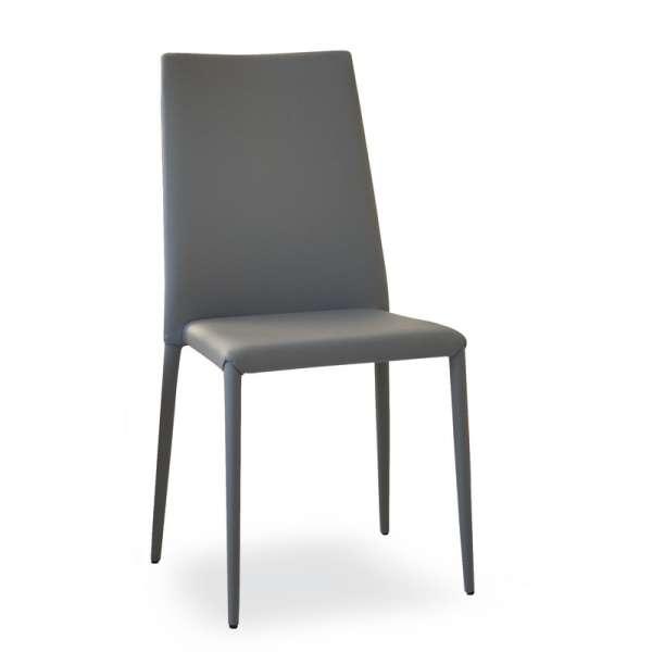 Chaise contemporaine italienne grise - Bea - 1