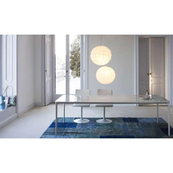 Table design rectangulaire en verre  - Slim 10 Sovet® 10 - 10