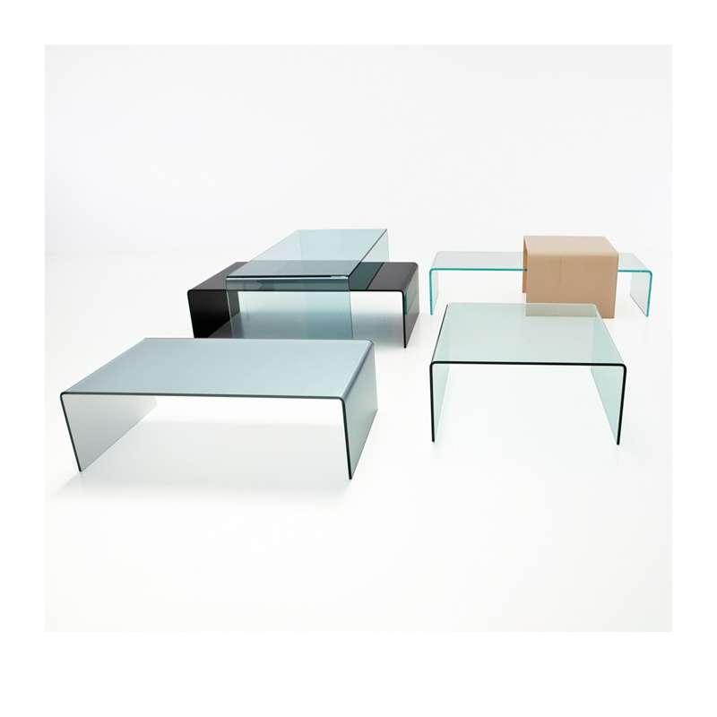 basse rectangulaire en moderne Sovet® Table verre Bridge 7bf6gy