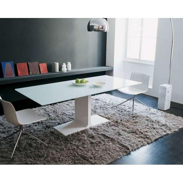 Table design en verre rectangulaire - Palace Sovet® 8 - 6