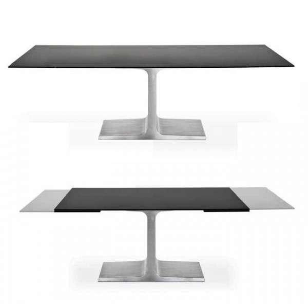 Table design extensible en verre - Palace Sovet® - 3