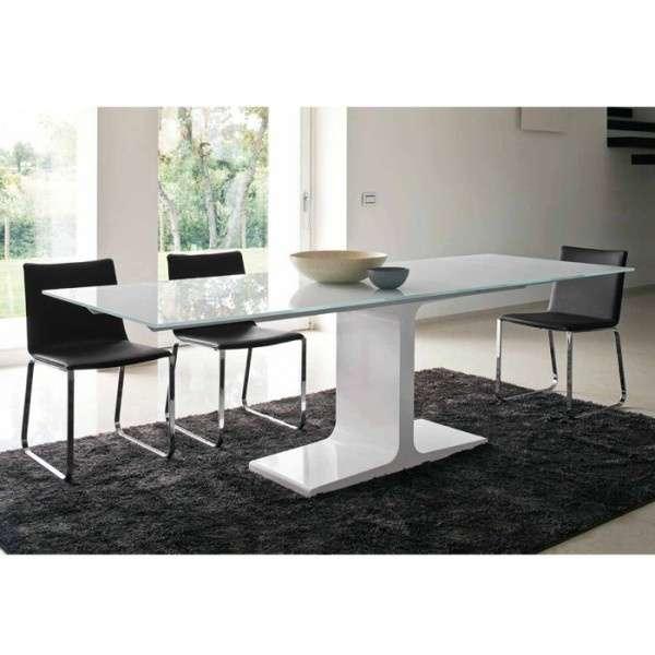 Table design extensible en verre - Palace Sovet® 3 - 2