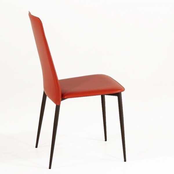 Chaise en croûte de cuir -  Ely-Plus - 2