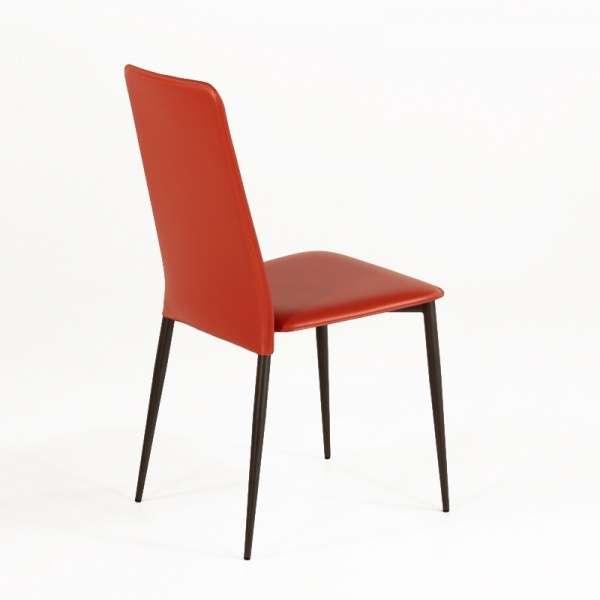 Chaise en croûte de cuir -  Ely-Plus 2 - 3