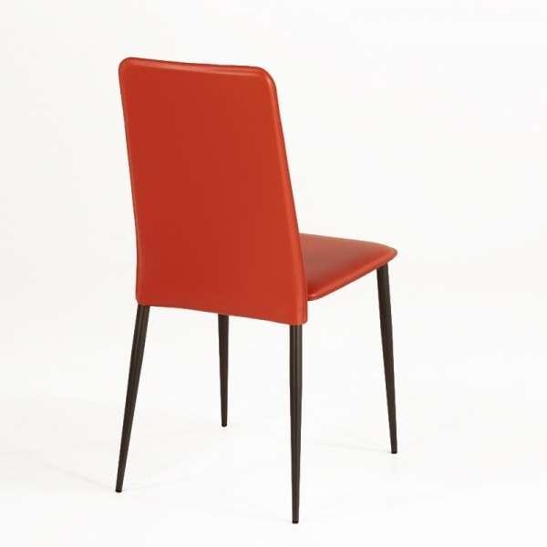 Chaise en croûte de cuir -  Ely-Plus 3 - 4