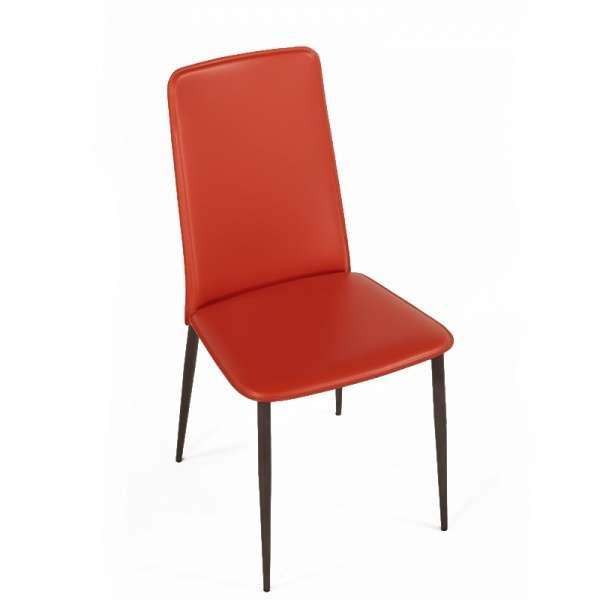 Chaise en croûte de cuir -  Ely-Plus 5 - 6