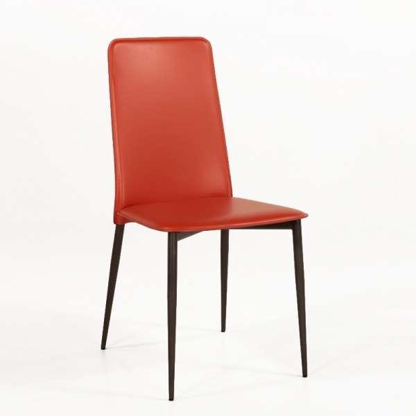 Chaise en croûte de cuir -  Ely-Plus 9 - 1