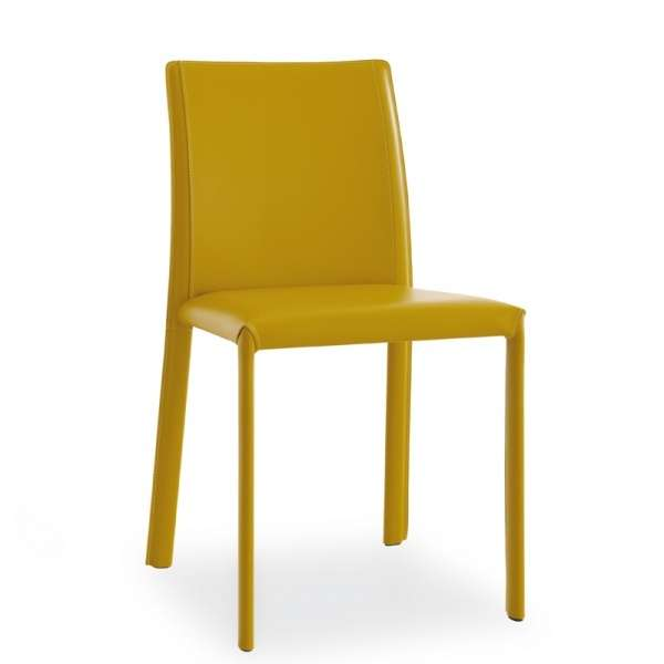 Chaise en croûte de cuir  - Kiris - 1