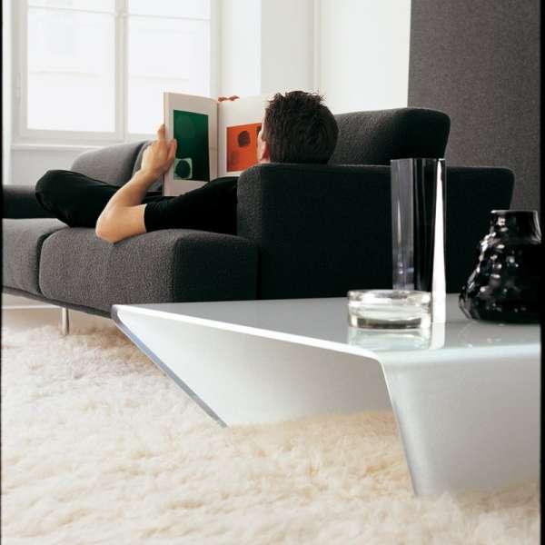 Table basse design en verre -  Rubino Sovet® 3 - 4