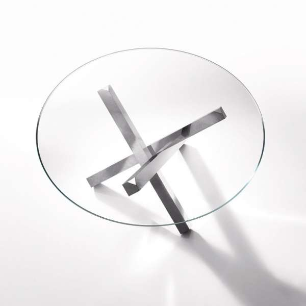 Table en verre design ronde - Aikido Sovet® 2 - 5