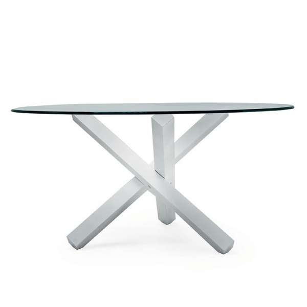 Table en verre design ronde - Aikido Sovet® 7 - 10