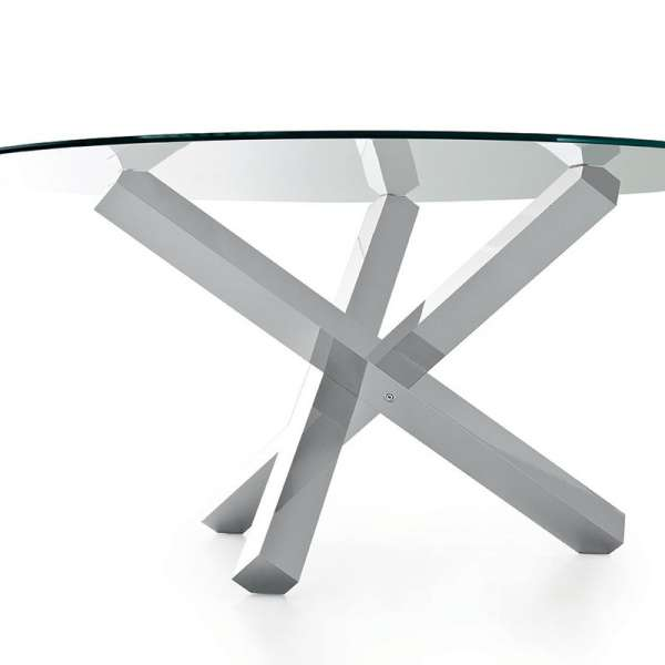 Table en verre design ronde - Aikido Sovet® 3 - 6