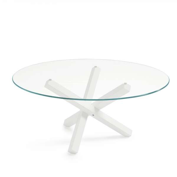 Table en verre design ronde - Aikido Sovet® 5 - 8