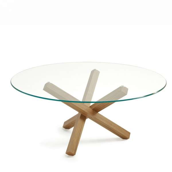 Table en verre design ronde - Aikido Sovet® 6 - 9