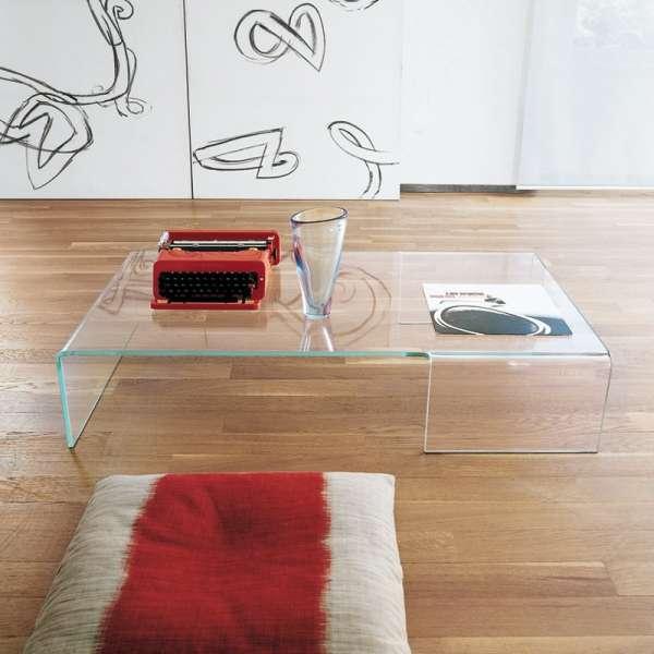 Table basse design rectangulaire en verre - Spider Sovet® 2 - 2