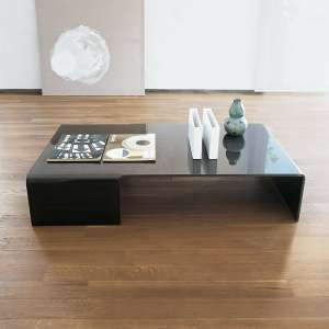 Table basse design rectangulaire en verre - Spider Sovet®