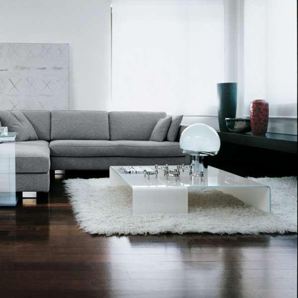Table basse design rectangulaire en verre - Spider Sovet® 4 - 3