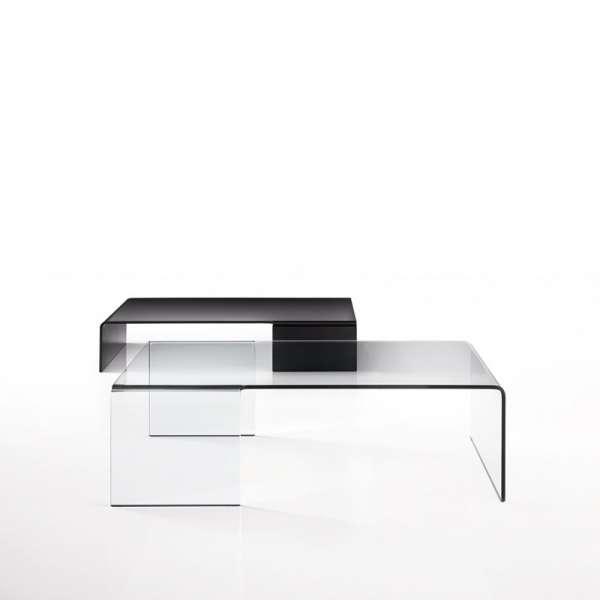 Table basse design rectangulaire en verre - Spider Sovet® 6 - 4