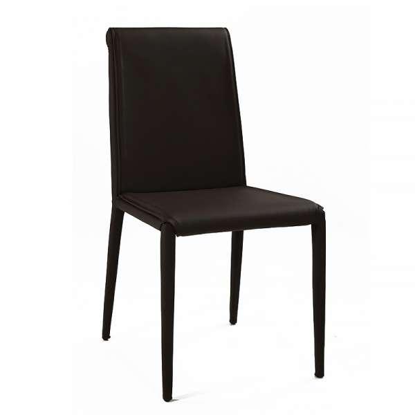 Chaise en cuir - Cinthia 6 - 6