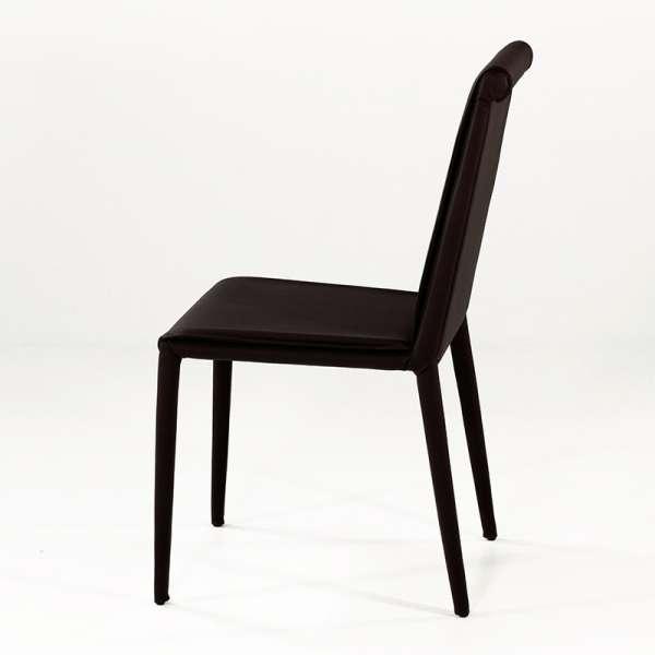 Chaise en cuir - Cinthia 4 - 4