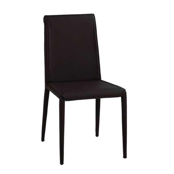 Chaise italienne en cuir - Cinthia