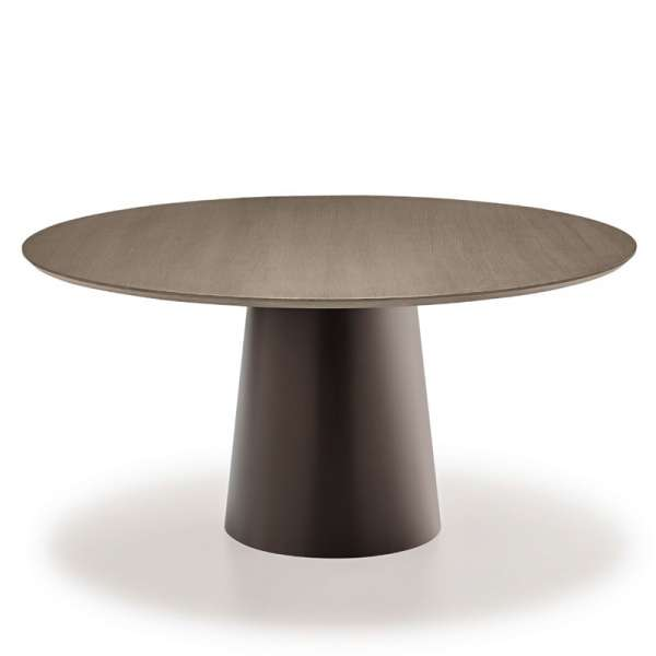 Table design plateau bois - Totem Sovet® - 3