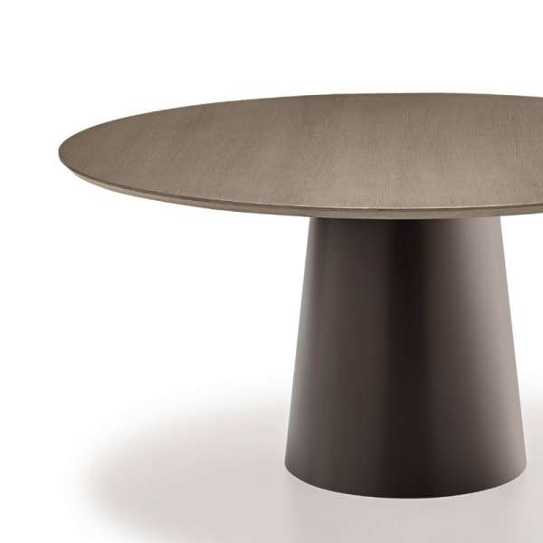 Table design plateau bois - Totem Sovet® 2 - 4