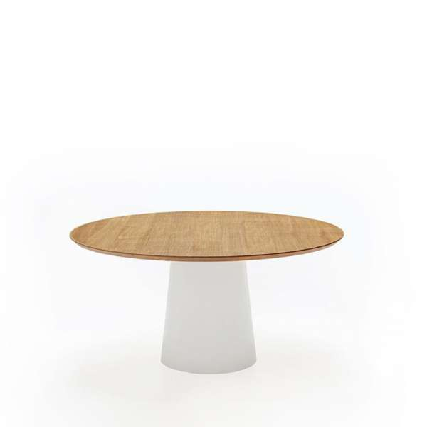 Table design plateau bois - Totem Sovet® 3 - 5