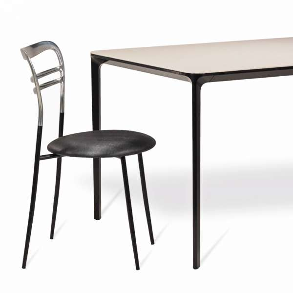 Table en céramique design extensible -  Slim Sovet® 10 - 10
