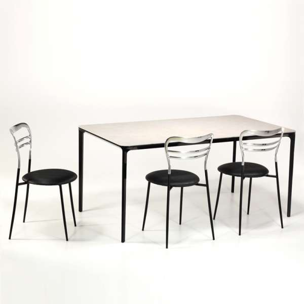 Table en céramique design extensible -  Slim Sovet® 9 - 9