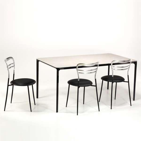Table en céramique design extensible -  Slim Sovet® - 2