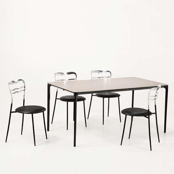 Table en céramique design extensible -  Slim Sovet® 8 - 8