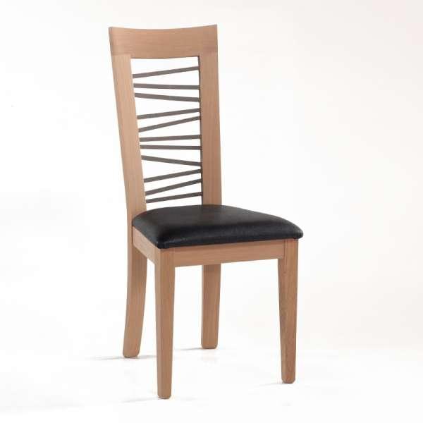 Chaise française dos bois fantaisie - Crocus 1654 - 1