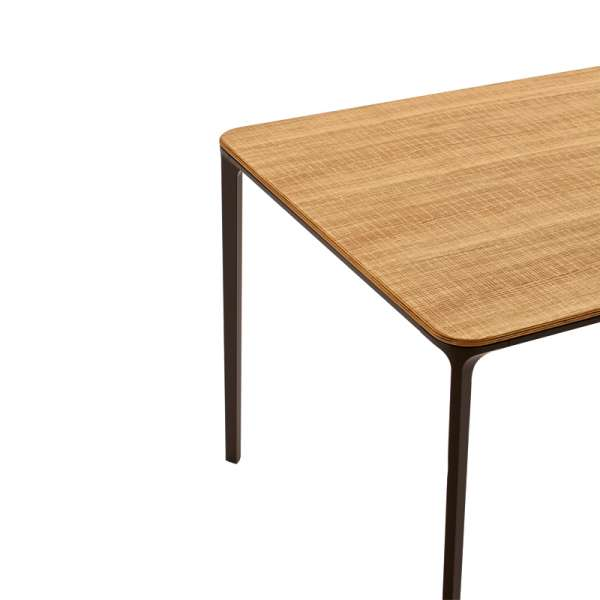 Table design plateau bois - Slim Sovet® 6 - 6