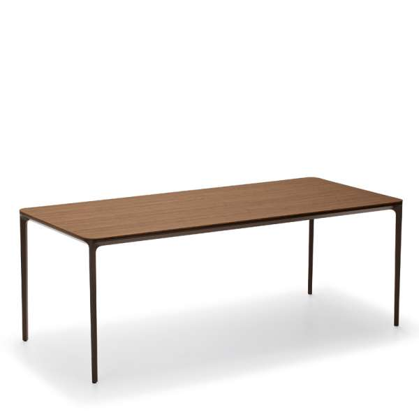 Table design plateau bois - Slim Sovet® 4 - 4