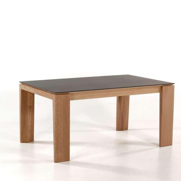 Table avec allonges en céramique fabriquée en France - Bakou - 2
